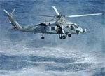 Sea hawk attack helicopter