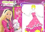 Barbie Glitterized Fashions Game