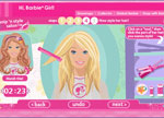 igrice Barbie games beauty salon - Barbie snip n style salon