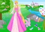 Barbie Princess Games - Rapunzel