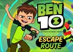 Ben 10 Escape Route Game