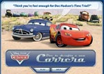 Disney Cars Time Trial game