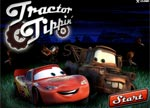 Disney Cars Tractor Tipping Game