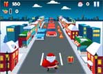 Christmas Games : Santa City Run