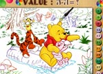 Winne the Pooh Color Math