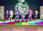Equestria Girls Dance off game