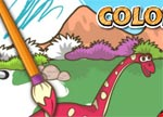 Dinosaur Games : Dino Coloring Book