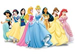 Disney Princess 12 Cards Game