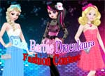 Elsa Barbie Draculaura Fashion Contest 2