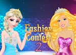 Elsa vs Barbie Fashion Contest 2