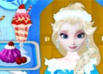 Princess Elsa's Frozen Ice Cream Shop