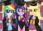 Equestria Girls Team Graduation game