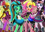 Equestria Girls in Monster High School