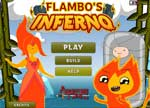 Igrice Adventure Time Flambo's Inferno Games