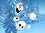 Frozen Games Oloaf Snowball Fight