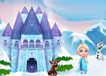 Frozen Princess Doll House Free Online Games