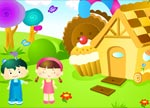 Design dream house for Hansel and Gretel