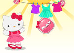 Hello Kitty Laundry Game