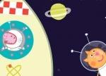 igrice Pepa Prase svemir