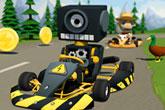 Auto trke Karting super go
