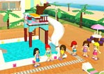 Lego Kockice Lego Friends pool party