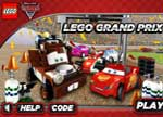 Lego Cars Grand Prix Game