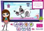 Fashion Games Littlest Pet Shop Dress Up