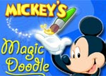 Mickey Mouse Magic Doodle game