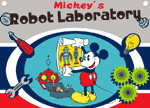 Mickey Mouse Robot Lab game
