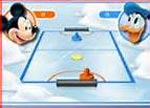 Mickey Mouse Air Hockey game