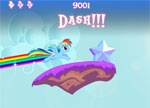 igrice Moj Mali Rainbow Dash Game