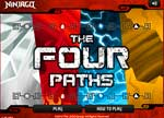 Ninjago Games : Ninjago 4 Paths