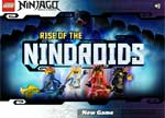 Ninjago Games: Rise of Nindroids Game