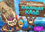 Princess Games :  Princess Moana Kakamora Kaos