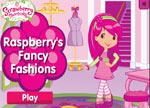 Strawberry Shortcake Games : Raspberry's Fancy Fashions