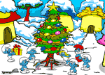 Igrice Strumfovi free games Smurfs Christmas Hidden Object Games
