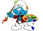 Igrice Strumfovi Bojanke free games Smurfs Coloring Book