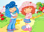Strawberry Shortcake Sticky Stickers  - Igrice Jagodica Bobica Stikeri