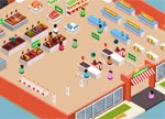 Supermarket Management Game