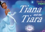 Disney Princess Tiana and the tiara