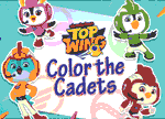 igrice Top Wing Color The Cadets Spiele
