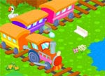 Train Adventures Animated Cartoon Hidden Object Games