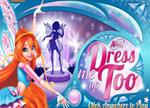 New Winx Games - Winx dress me up too